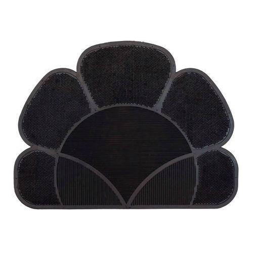 Wycieraczka Flower 41 x 55 cm czarna, 293134