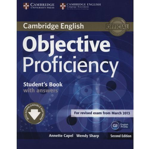 Objective Proficiency Student's book with answers (9781107646377)