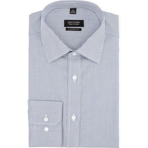 koszula versone 2755 długi rękaw custom fit niebieski