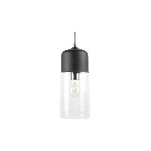 Lampa wisząca szklana czarna PURUS (4260580929573)