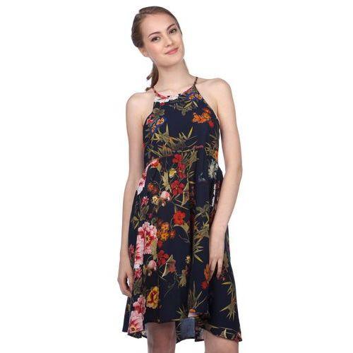 Brave Soul sukienka damska Blossom M ciemnoniebieski