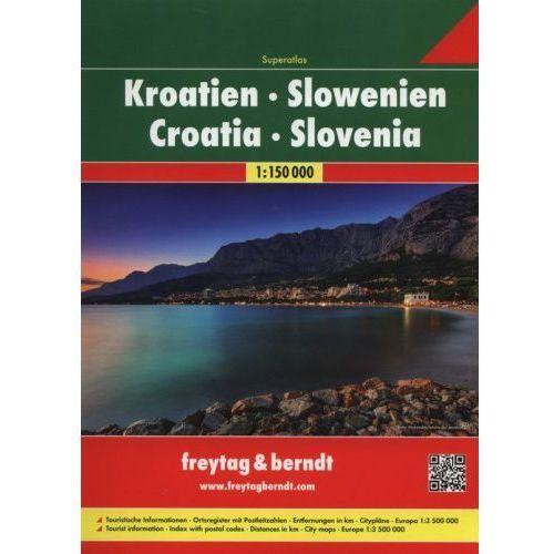 Chorwacja, Słowenia. Atlas samochodowy 1:150 000. Freytag & berndt (2011) - OKAZJE