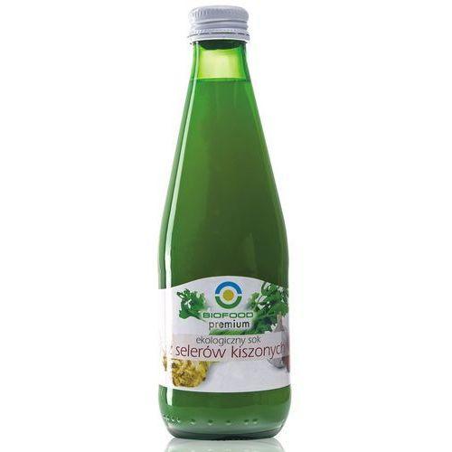 Sok z selerów kwaszonych (kiszonych) 300 ml - ekologiczny Bio Food (5907752683329)