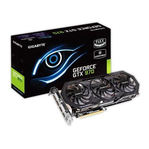 Gigabyte GeForce GTX 970 OC, 4GB GDDR5 (256 Bit), 2xDVI, HDMI, 3xDP,
