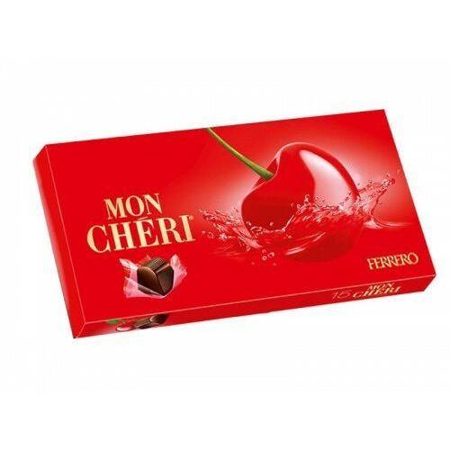 FERRERO 157,5g Mon Cheri Pralinki z czekolady z czereśnią w likierze
