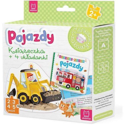Pojazdy Książeczka i cztery układanki Puzzle dla malucha - Praca zbiorowa (9788381063555)