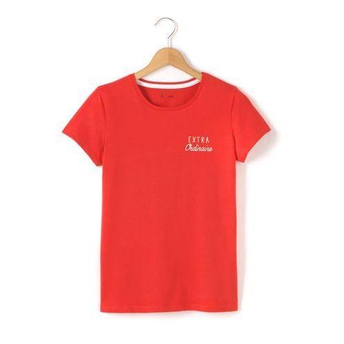 Koszulka z okrągłym dekoltem, z motywem na klatce piersiowej 10-16 lat - sprawdź w wybranym sklepie