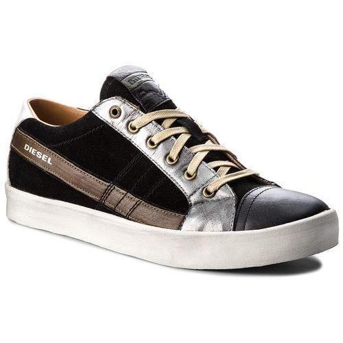 Diesel Sneakersy - d-string low y01641 p1435 h4585 black/olive night