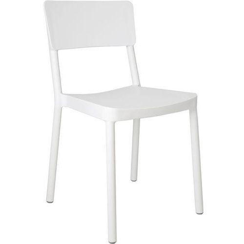 Krzesło Lisboa - biały, kolor biały