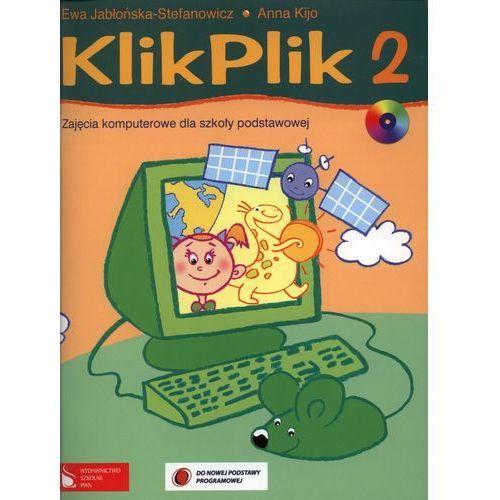 KlikPlik 2 Zajęcia komputerowe dla szkoły podstawowej