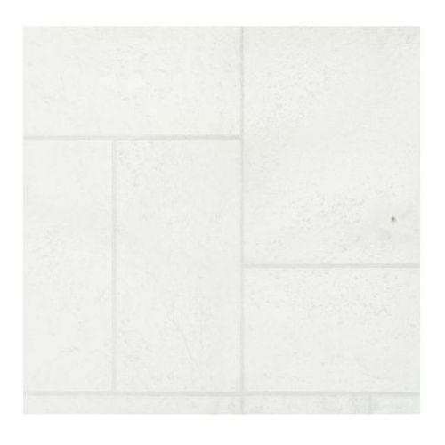 Wykładzina PCV Glanc 2 m białe kafle (5907736261864)
