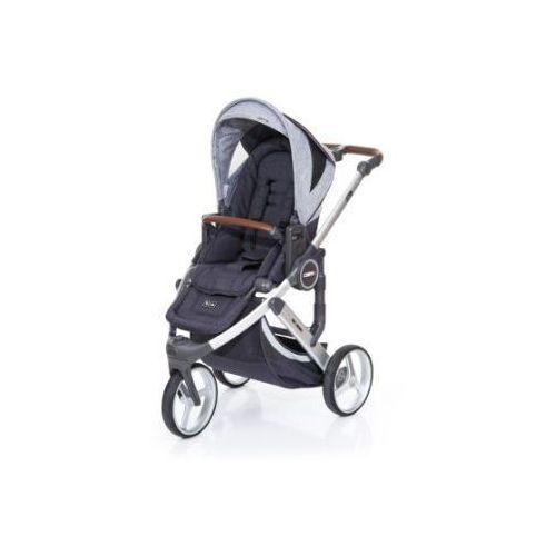 Abc design  wózek dziecięcy cobra plus street-graphite grey, stelaż silver / siedzisko street (4045875037832)