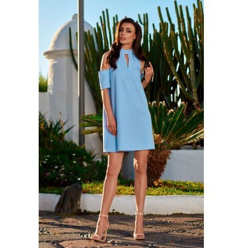 Sukienka model l245 sky blue marki Lemoniade