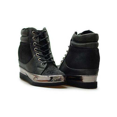 Sneakersy 27209 czarne, Sergio leone