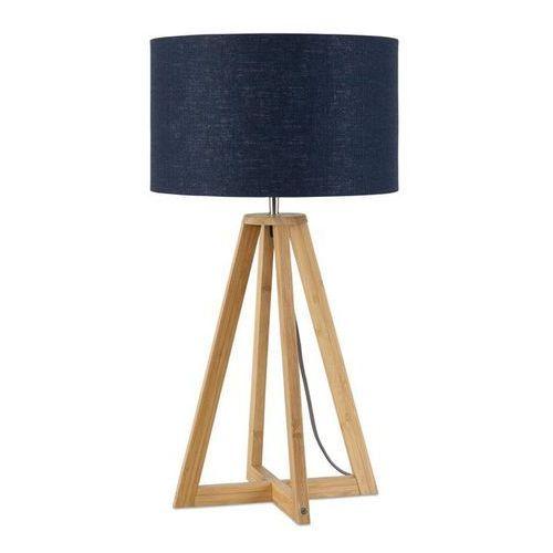 Good & mojo Everest-lampa stojaca bambus & len naturalny wys.34cm (8716248074698)