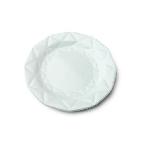 Mondex Talerz deserowy adel miętowy ceramika diament