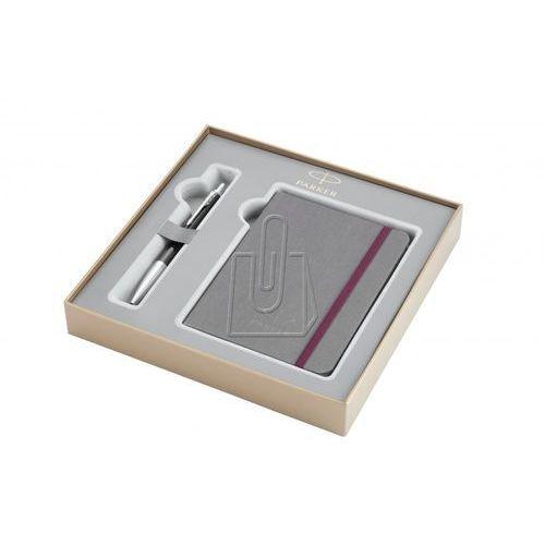 Zestaw prezentowy długopis Parker Urban Premium Ebony CT i notes 2010768