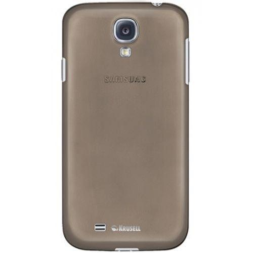Krusell Etui FrostCover do Samsung Galaxy S4 i9500 (transparentny czarny) - wyprzedaż!