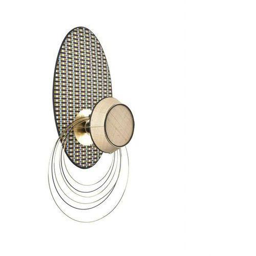 MASSAÏ-Kinkiet owalny Rafia/Metal Wys.79cm (3188000754356)