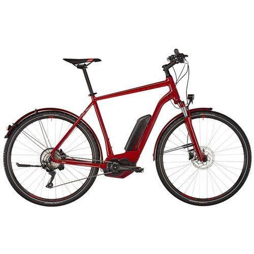 """Cube Cross Hybrid Pro Allroad 400 Rower elektryczny crossowy czerwony 62cm (28"""") 2018 Rowery elektryczne"""