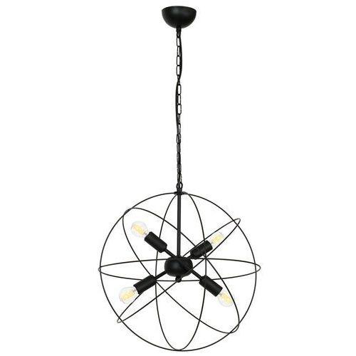 Luminex copernicus 1102 lampa wisząca zwis 4x60w e14 czarny