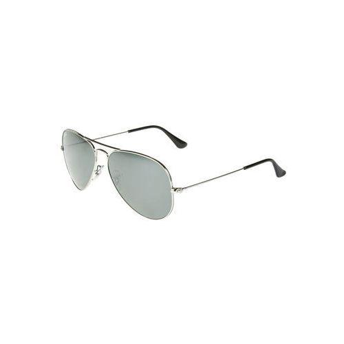 Ray-ban Rayban aviator okulary przeciwsłoneczne silvercoloured (0805289005612)