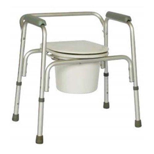 Krzesło sedesowe aluminiowe RF-800 REHA FUND