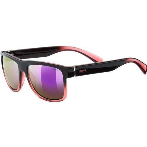 UVEX LGL 21 Okulary rowerowe różowy/czarny 2018 Okulary przeciwsłoneczne (4043197295169)