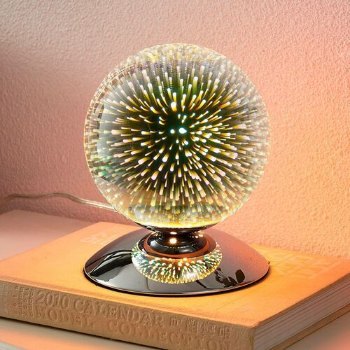 Efektowna lampa stołowa Isumi, kulista (4251096530094)