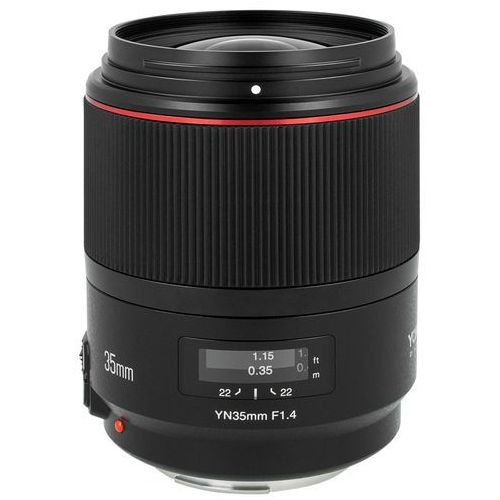 Obiektyw YONGNUO YN 35 mm f/1.4 do Canon EF DARMOWY TRANSPORT (6947110911274)