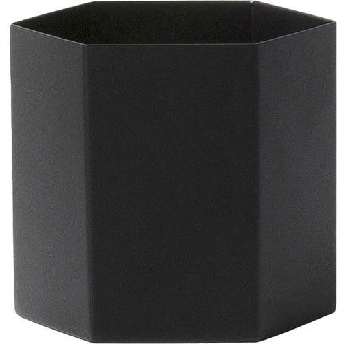 Doniczka Hexagon L czarna (5704723007883)