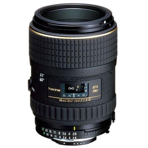 af 100 mm f/2,8 at-x m1000 pro d makro canon marki Tokina