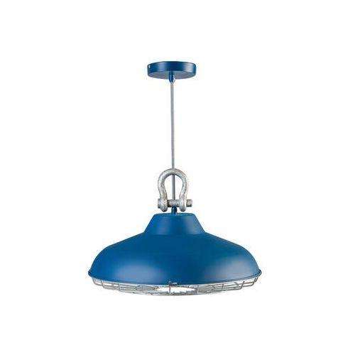 Eth Lampa wisząca loft industry niebieska
