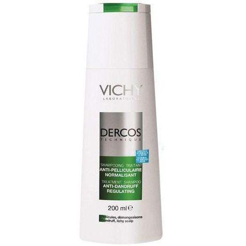 dercos szampon przeciwłupieżowy włosy normalne i przetłuszczające się 200ml marki Vichy