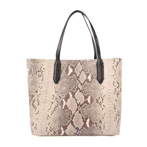 torba shopper 'pcelen' beżowy / brązowy marki Pieces