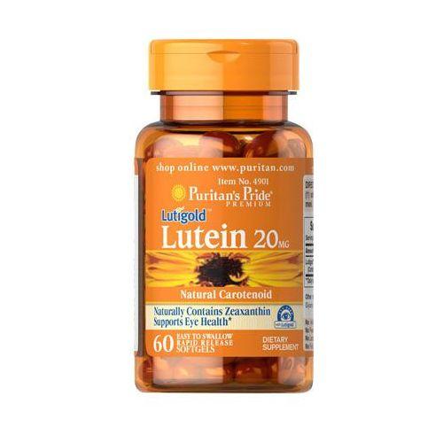 Puritan's pride Luteina zeaksantyna 20mg lutein lutigold 60 kapsułek  (2552501002451)