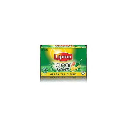 Lipton Herbata green tea citrus (25 saszetek)