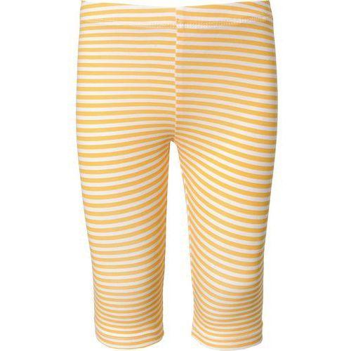 Name it legginsy 'vivian' żółty / biały