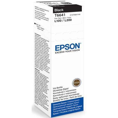 Tusz t6641 black 70ml butelka do l100/110/200/210/300/355/550 marki Epson