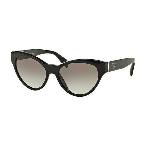 Okulary Słoneczne Prada PR08SSF Asian Fit 1AB0A7, kolor żółty