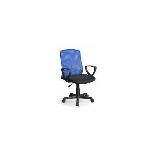Fotel Alex czarno-niebieski - ZADZWOŃ I ZŁAP RABAT DO -10%! TELEFON: 601-892-200