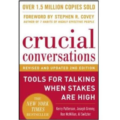 Crucial Conversations Tools for Talking When Stakes Are High (9780071771320)