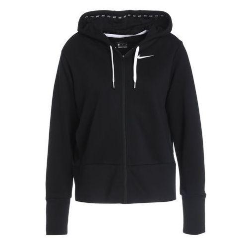 Nike Performance DRY Bluza rozpinana black/white