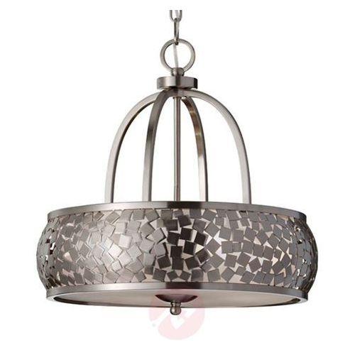 ZARIA – elegancka lampa wisząca ze szczotk. stali (5024005701804)