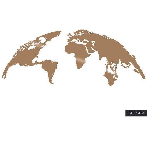Selsey dekoracja ścienna algieba 150x59 cm miedziana (5903025399911)