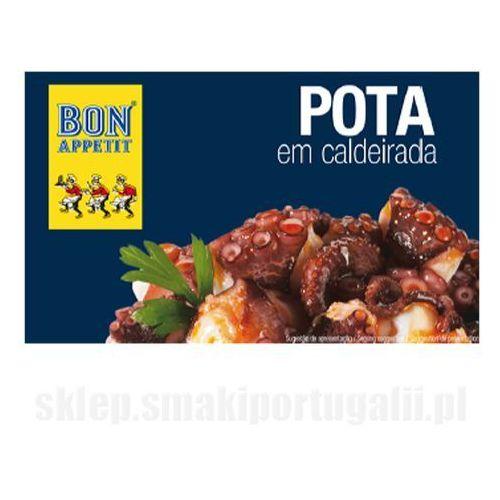 Portugalska kałamarnica humboldta duszona z warzywami 120g Bon Appetit z kategorii Konserwy i przetwory rybne