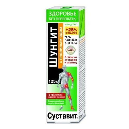 Żel-balsam na stawy i mięśnie Sustawit z szungitem i jadem pszczelim 125ml (7640123862333)