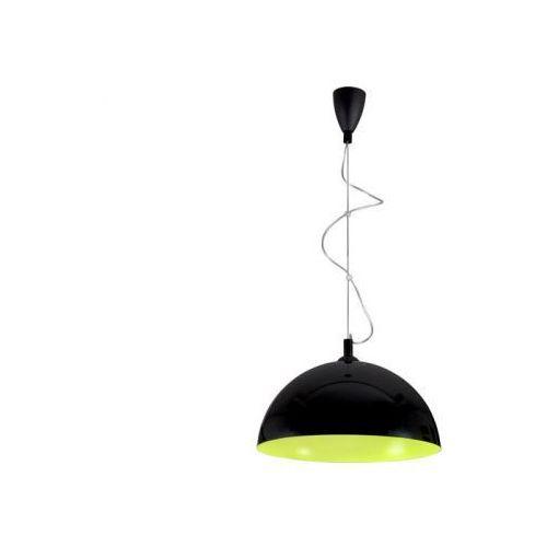 HEMISPHERE BLACK-YELLOW FLUO L LAMPA WISZĄCA NOWODVORSKI 5765, kolor czarny,