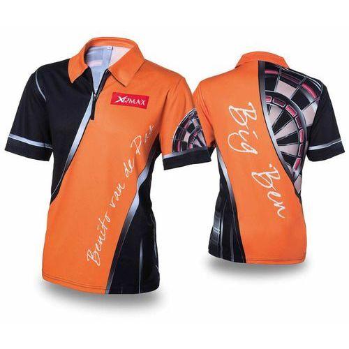 replika koszulki meczowej bvdp, pomarańczowa, rozmiar xxl marki Xqmax darts