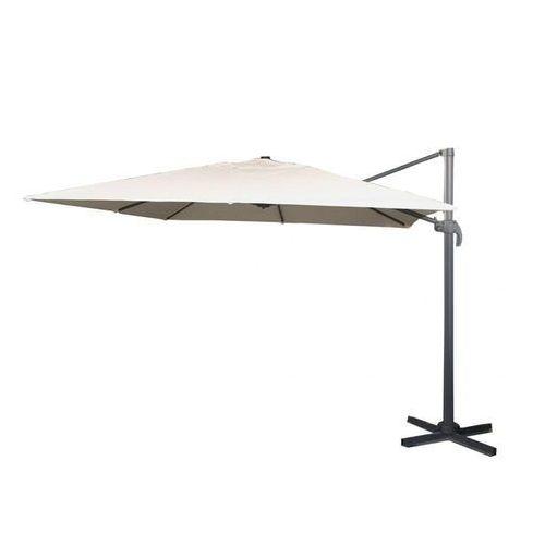 Makers parasol ogrodowy boczny roma sq 3 m, beżowy (8594173122284)